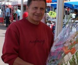 Michel Dubetier, fleuriste pour le plaisir du marché