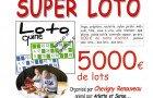 Super loto de Chevigny Renouveau, c'est bingo.