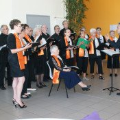 La chorale des 4 temps.The Voice
