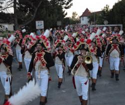 La fête nationale avec la Garde Impériale