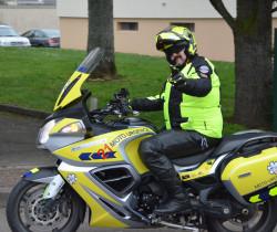 Francis Pouget, sauver des vies grâce à la moto