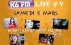 Concert K6FM, en avant Live
