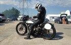 Moto légende, échappement libre