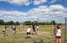 Le tournoi de volley, un succès à la clé