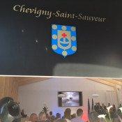 La salle des mariages de Chevigny, le sacre du printemps