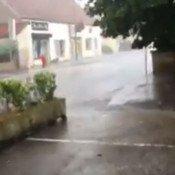 Un déluge sur Chevigny