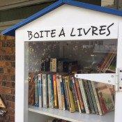Boîte à livres à Chevigny, OK