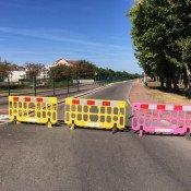 La route de Dijon est barrée