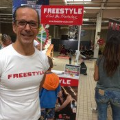 Freestyle au Carrefour Quetigny