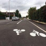 Est-ce que la piste cyclable va densifier les vélos ?