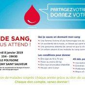 Collecte de sang, les besoins sont grands