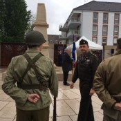 Cérémonie, les américains «débarquent» à Chevigny