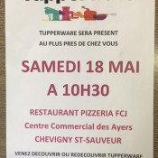 Tupperware Party au FCJ
