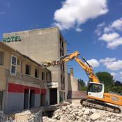 Au Bon Accueil : la démolition est en marche