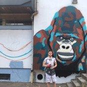 Street art au centre commercial Des Ayers