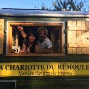 La chariotte du rémouleur en escale à Chevigny