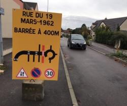 Une rue en sens unique à double sens !