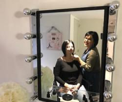 Élodie Germain, le maquillage dans la peau
