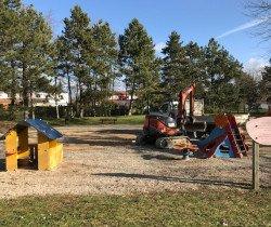 Parc de la Saussaie : cure de jouvence pour les aires de jeux