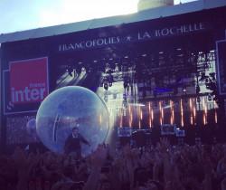 Une bulle d'air dans l'atmosphère