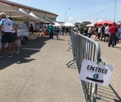 Le marché de Chevigny, par ici la sortie
