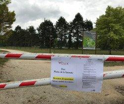 Parc de la Saussaie : accès interdit de 23h à 6h
