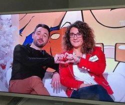Marilyne et Nicolas, un couple Chevignois, remporte la finale des Z'amours