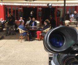 Chevigny : tournage d'un court-métrage avec Virginie Efira