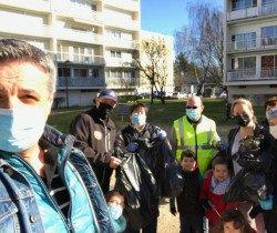 Coup de propre dans le quartier du Breuil
