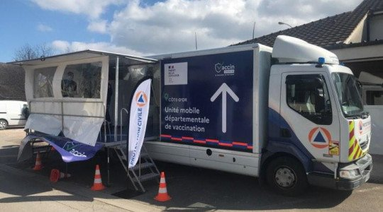 Le vaccinobus fera étape au collège Camille Claudel