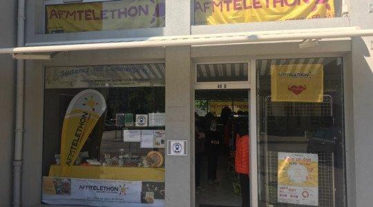 La boutique éphémère du Téléthon rouvre ses portes