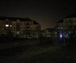 Opération nocturne place de la Liberté