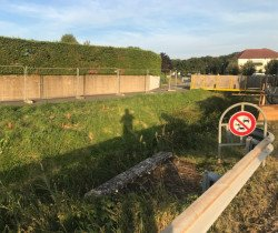 La passerelle, le chaînon manquant est en cours d'aménagement